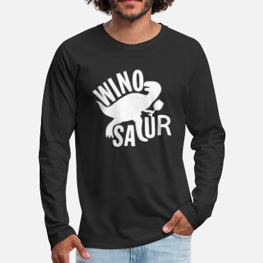 2bde4c41d Winosaur Ladies WINOSAUR T Shirt Funny Wine Dinosaur Tshi - Men's  Premium