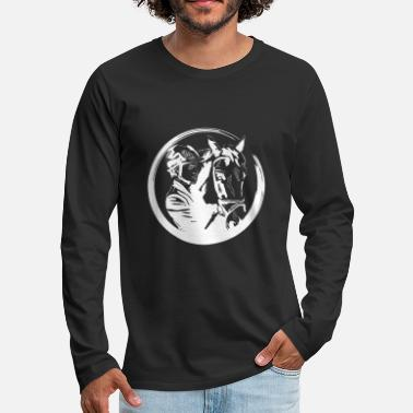 Equitation Horse riding equitation - Men's Premium Longsleeve Shirt
