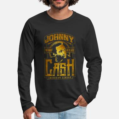 Cash johnny cash - Men's Premium Longsleeve Shirt