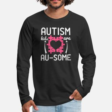 Autism kids are Ausome - Men's Premium Longsleeve Shirt