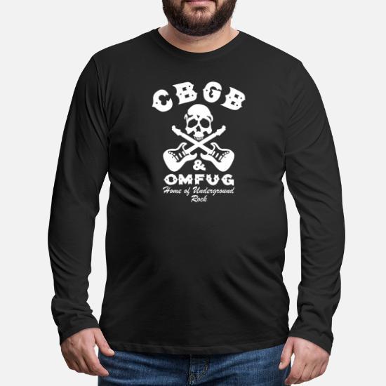 CBGB OMFG Punk Rock T Shirt