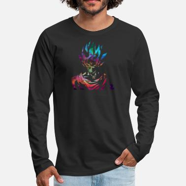 Dragon Ball Z Dragon Ball Z Goku Galaxy Nebula - Men's Premium Long Sleeve T-Shirt