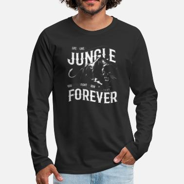 Jungle Panther - Life is... - Men's Premium Long Sleeve T-Shirt