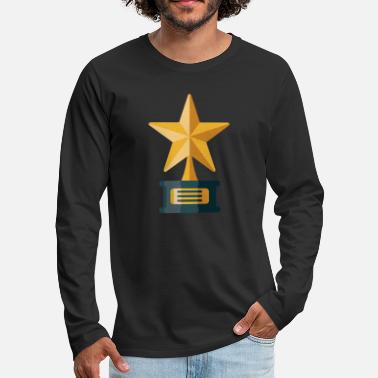 Award Awards Trophy - Men's Premium Longsleeve Shirt