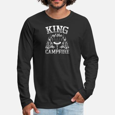 King Of The Campfire King Of Campfire - Men's Premium Longsleeve Shirt