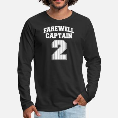 Farewell Farewell captain - farewell captain 2 - Men's Premium Longsleeve Shirt