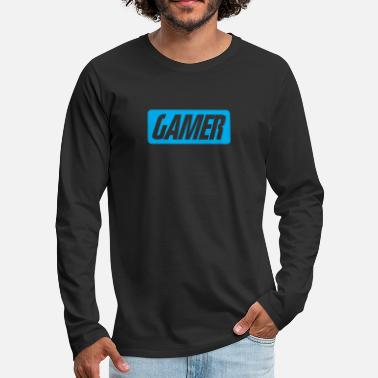 Console Video game - Men's Premium Long Sleeve T-Shirt