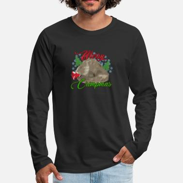 Bouldering Rock Climbing Bouldering Ugly Christmas Funny Gift - Men's Premium Longsleeve Shirt