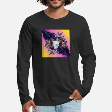Gradient castle - Men's Premium Longsleeve Shirt