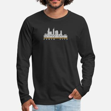 City Of Perth Perth city - Cousins, judo, matera - Men's Premium Longsleeve Shirt