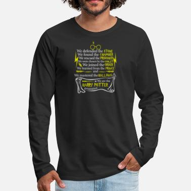 Stone Harry potter - We defended the stone t-shirt - Men's Premium Long Sleeve T-Shirt
