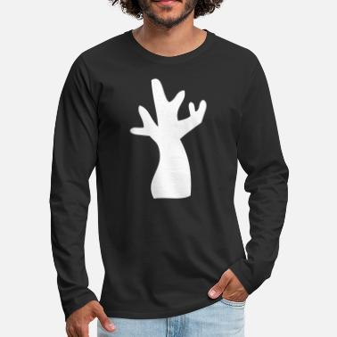 Strange Tree With No Leaves - Men's Premium Long Sleeve T-Shirt