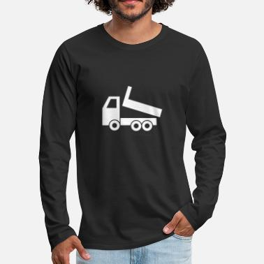 Lovely Truck Toy - Men's Premium Long Sleeve T-Shirt