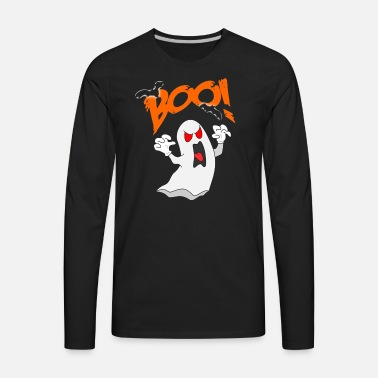 b7219e0b1 Emoticon Tongue Out Boo Ghost Halloween Costumes Men's Premium T ...