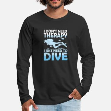 Diving - Men's Premium Longsleeve Shirt