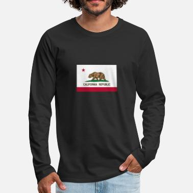 California Republic Flag California Republic Flag - Men's Premium Longsleeve Shirt