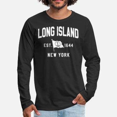 Island LONG ISLAND SHIRT - Men's Premium Longsleeve Shirt