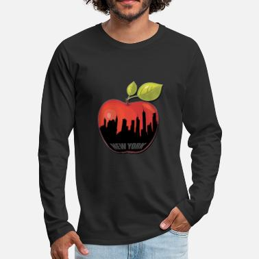 Big Apple BIG APPLE - Men's Premium Long Sleeve T-Shirt
