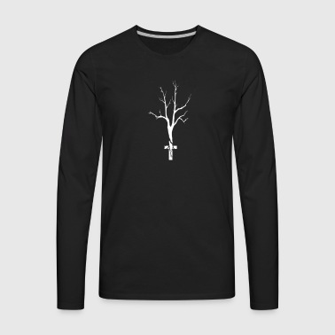 Cross-Fit With Jesus - Men's Premium Long Sleeve T-Shirt