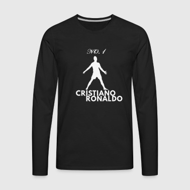 CR7 Is The No.1 - Men's Premium Long Sleeve T-Shirt