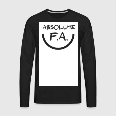 Absolute FA smiley - Men's Premium Long Sleeve T-Shirt
