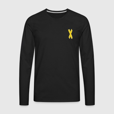 Yellow - Men's Premium Long Sleeve T-Shirt