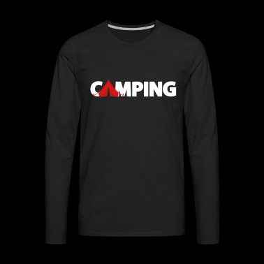 camping - Men's Premium Long Sleeve T-Shirt