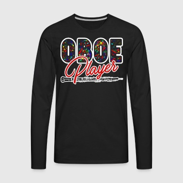 Oboe Player Shirts - Men's Premium Long Sleeve T-Shirt