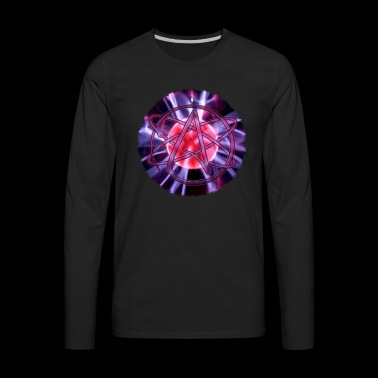 Atomic Atheist #30 - Men's Premium Long Sleeve T-Shirt