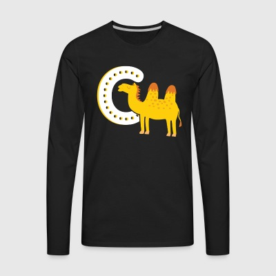shop camel long sleeve shirts online spreadshirt. Black Bedroom Furniture Sets. Home Design Ideas