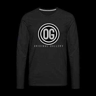 OG Black & White - Men's Premium Long Sleeve T-Shirt