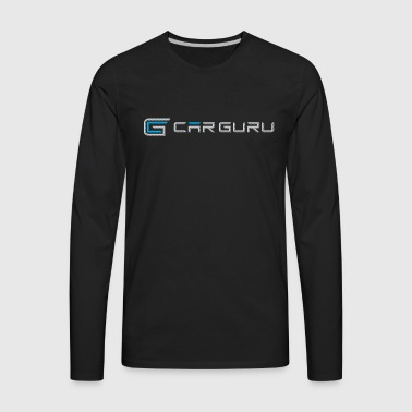 Car Guru - Emblem Logo - Men's Premium Long Sleeve T-Shirt