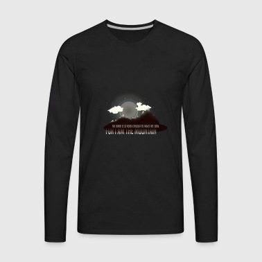 Moon Mountain - Men's Premium Long Sleeve T-Shirt