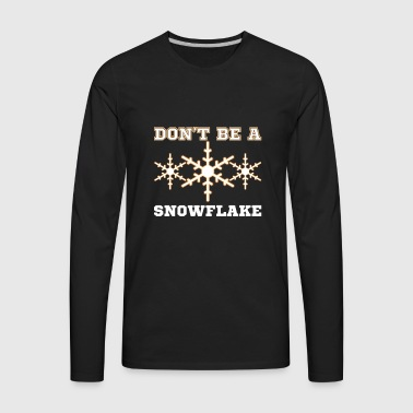 Snowflake Trump 2020 supporters t-shirt gift - Men's Premium Long Sleeve T-Shirt