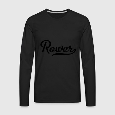 rowing - Men's Premium Long Sleeve T-Shirt