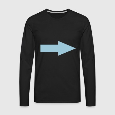arrow - Men's Premium Long Sleeve T-Shirt