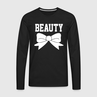 Beauty bow - Men's Premium Long Sleeve T-Shirt