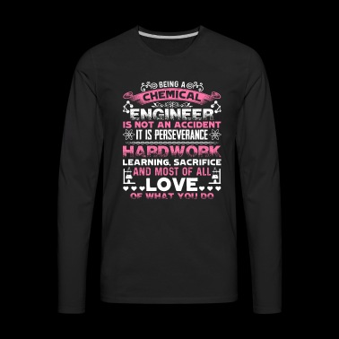 Love Chemical Enginner Shirt - Men's Premium Long Sleeve T-Shirt