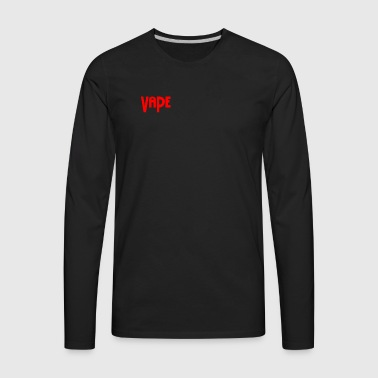 Vape Apparel - Men's Premium Long Sleeve T-Shirt