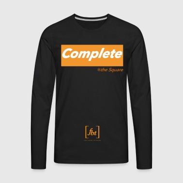 Complete the Square [fbt] - Men's Premium Long Sleeve T-Shirt
