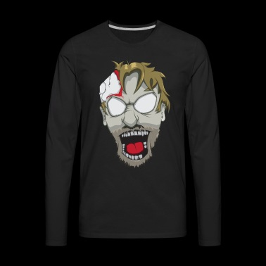 Zombie attack - Men's Premium Long Sleeve T-Shirt