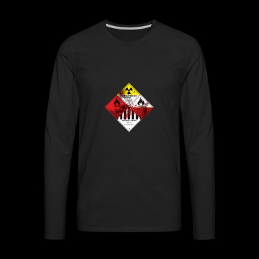 Danger - Men's Premium Long Sleeve T-Shirt