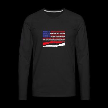 Right to Gear Arms T-shirt - Men's Premium Long Sleeve T-Shirt
