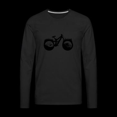 DH BIke - Men's Premium Long Sleeve T-Shirt