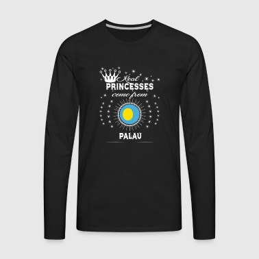 queen love princesses PALAU - Men's Premium Long Sleeve T-Shirt