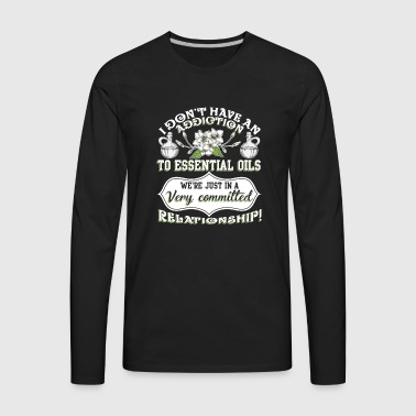 Essential Oils T Shirt - Men's Premium Long Sleeve T-Shirt