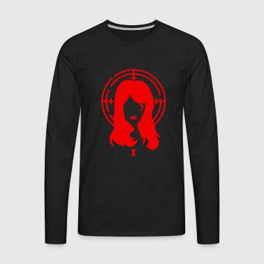 Black Widow - Men's Premium Long Sleeve T-Shirt