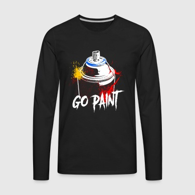 Go Paint - Men's Premium Long Sleeve T-Shirt