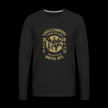 KARATE CHAMPION - Men's Premium Long Sleeve T-Shirt