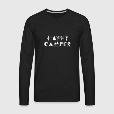 HAPPY CAMPER - Men's Premium Long Sleeve T-Shirt